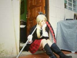 This is it. ~Maka Albarn by IrisJovem
