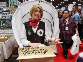 Oregon Trail at NYC Comic Con 2013 by FUBARProductions