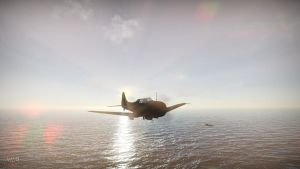 WT:SBD Dauntless dive-bomber by A3DR