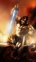 Savage Sword by Brolken