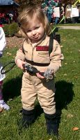 The Littlest Ghostbuster by JacobLionheart