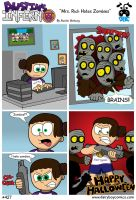 Mrs. Rich Hates Zombies by DairyBoyComics