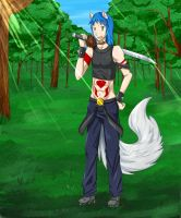 Akuma_In the Forest by Angel-soma