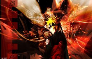 Naruto in Shippuuden Mode by ab6421