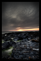 Sunset At Godrevy 2 by Enderion