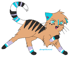 Point Cat Adoptable! [CLOSED] by H3ARTOFTHEOCEAN