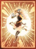 Ms. Marvel - Vincenzo Cucca / Jack Lavy by JackLavy
