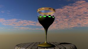 Neon goblet by GodRollo