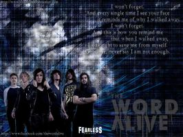The Word Alive Wallpaper by winter-ame