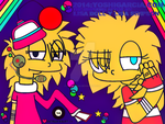 lisa doll y lisa simpson by Yoshigarcia