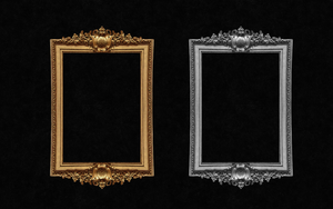 Decorative antique frame by Ronnan