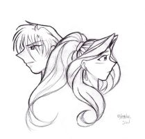 Felicity and Zales sketch by samanthawagner