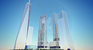 New World Trade Center rendering by WorldTradeCenter