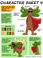 Character Sheet 4.Captain Coco by Ardwick
