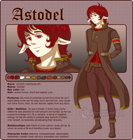 Astodel - reference sheet by SmilingOfTheHealer