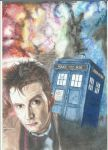 The Doctor and the T.A.R.D.I.S. by JustaBitSilly