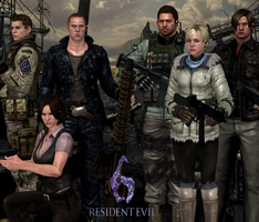 Resident Evil 6 3 Years by Leon5cottKennedy