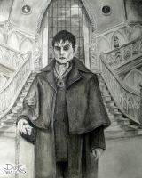 Johnny Depp as Barnabus Collins by Crazynerds