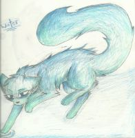 Wolf Water by RedNoctali