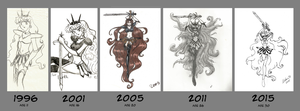 Oc Sailor Earth Art Evolution by Nstone53