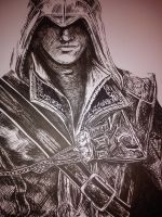 Ezio - Assassin's Creed Fanart by Lucky101212