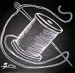 Needle and Thread - 100 for 100 (2012) by SnowBunnyStudios