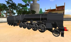BR Standard Class 9F by Crystal-Eclair