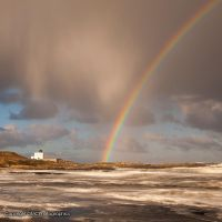 Rainbows and Lighthouses by GMCPhotographics
