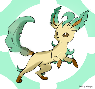 Leafeon by That-Lineart