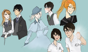 Harry Potter Universe OCs by kimitama