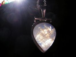 Moonstone Pendant 2 by Pinkfirefly135