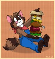 Epic Sandwich of Dooooom! by TDotBabs