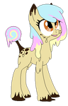 Candy Pony Adopt [CLOSED] by Tran-Quility