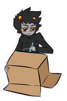 KARKAT VANTAS by grouchyArtisan