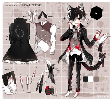 [Costum Lineheart] : Howliing by Relxion-kun