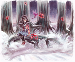 land of frost and frogs by chienoir