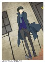 Sherlock Steppin Out with Swag by KaitrinSnodgrass