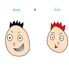 Bucky and Nutty by MrAwesome1999
