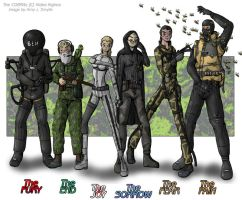 MGS3 - Cobras 3 by AmyJSmylie