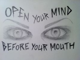 Chris Motionless's Eyes Sketch by FalloutLuver13