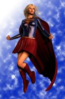 Classic Supergirl by FredAckerman