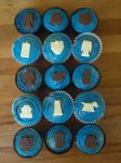 Dr Who Cupcakes by grassgrazers01