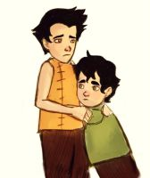 Lil Mako and Bolin by Dwarika