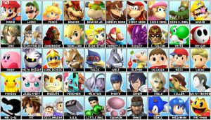 My new SSB4 Roster by ticklinglicker