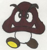 Goomba by LeonaLeZard