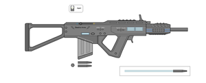 Electric Rifle by Artmarcus