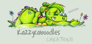 Snoozing Dragon by kazzycaboodles