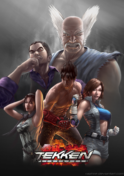 Tekken Poster for Southeast Asia Major 2014 by Raphire