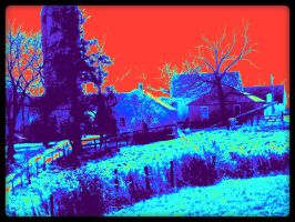 Thermal Farm in Fombell PA by davidbrucesmith