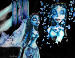 Corpse Butterflies by SummerSucculence